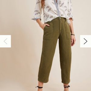Anthropologie relaxed vintage utility pant 26